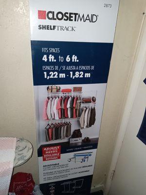 Closet maid adjustable shelf's closet organizer for Sale in Artesia, CA
