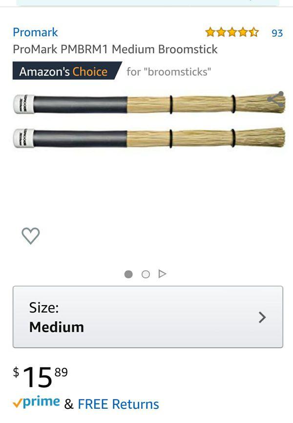 Broomsticks for Drumming