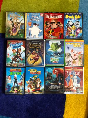 Disney/Cartoon Movies for Sale in Indian Trail, NC
