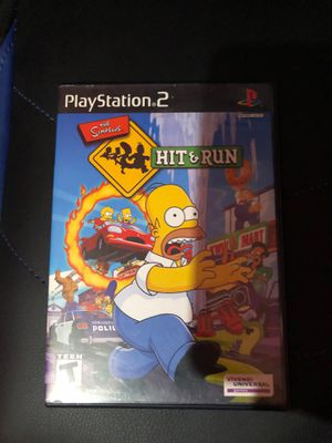 Simpsons Hit & Run Ps2 for Sale in Montebello, CA