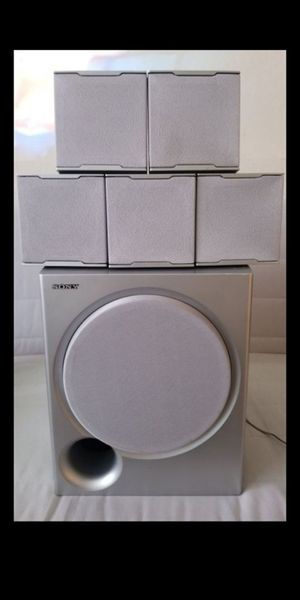 Sony 5.1 Surround Sound System + 100W Subwoofer Bass (Wired) Home Theater for Sale in Kenmore, WA
