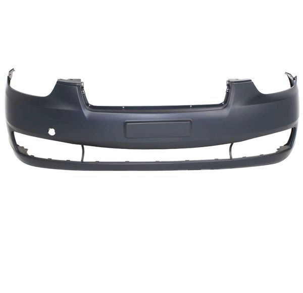 Front Bumper for Hyundai Accent 2006-2011 primed with Tow Hook Hole (Hatchback 07-11)/Sedan