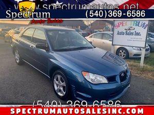 2007 Subaru Impreza Sedan for Sale in Fredericksburg, VA