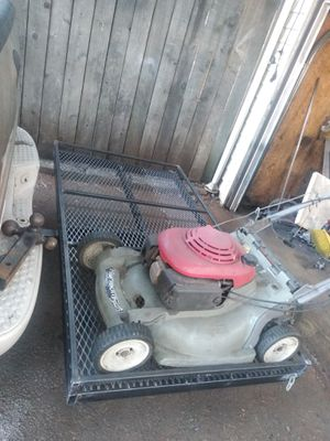 lawnmower. carrier rack. fits. 2. machines. size. 3x5/1/2 for Sale in Renton, WA