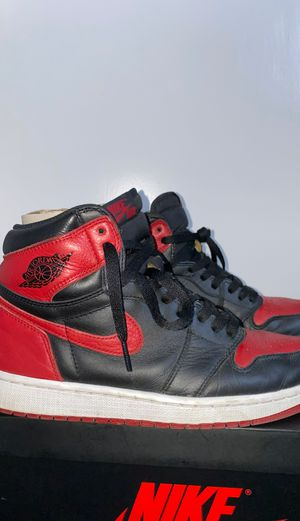 Banned Jordan 1 (2016) size 8.5 for Sale in Anaheim, CA