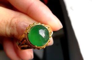 Emerald Green Grade A Icy Jade Ring for Sale in Seattle, WA