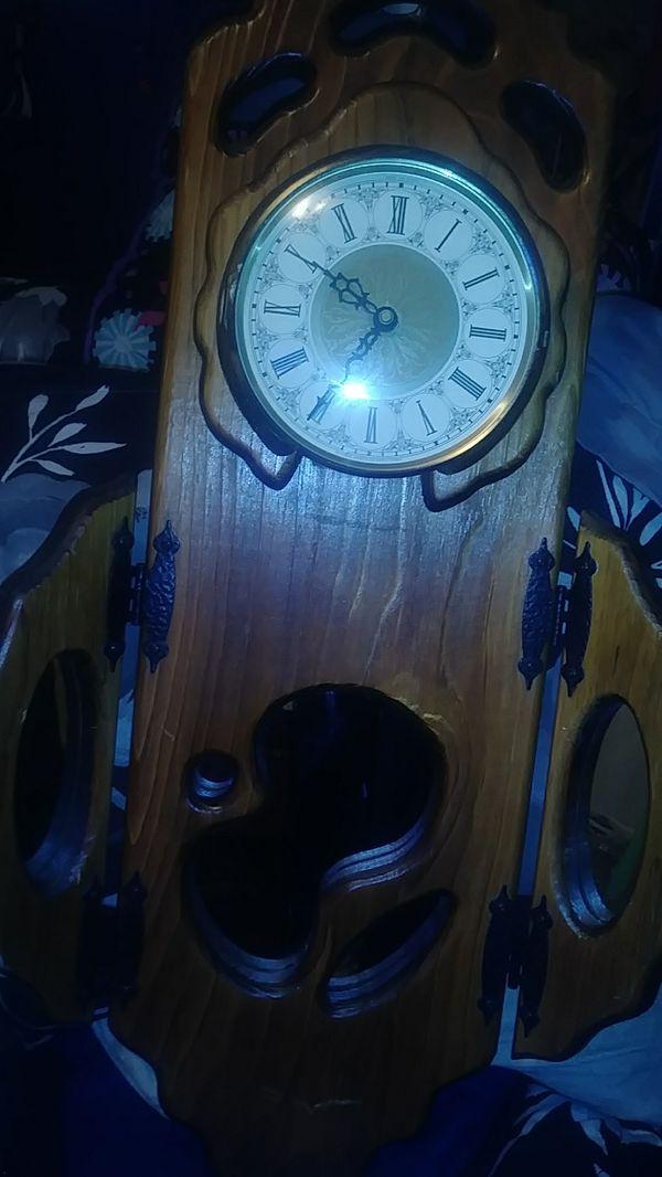"vintage clock "" Made On Earth"""