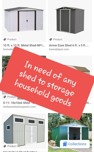 Donate Shed to family of 9, Thank you! for Sale in Avondale, AZ