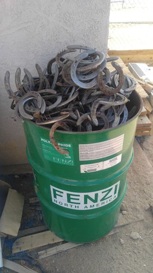 Over 300 used horseshoes for Sale in Apple Valley, CA