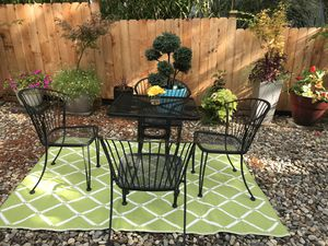 5 pieces outdoor patio furniture set for Sale in Seattle, WA