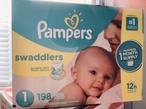 Size 1 Diapers for Sale in Clifton, NJ