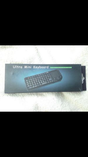 Ultra mini bluetooth keyboard. Works with Smart TVs,laptops or any USB Bluetooth device for Sale in Thornton, CO