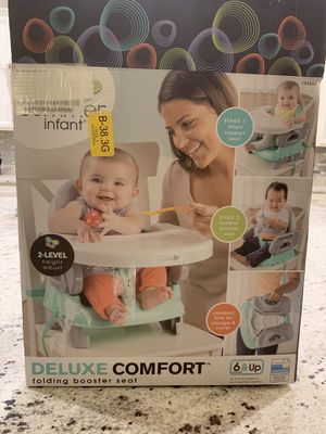 New Summer Deluxe Comfort Folding Booster Seat, Elephant Love SUMMERLIN for Sale in Las Vegas, NV