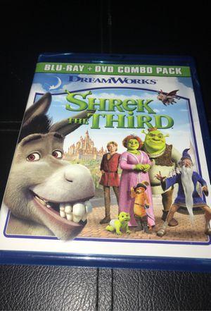 Shrek The Third Blu-ray DVD for Sale in Corona, CA