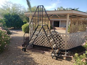 Vintage iron stairs for Sale in Sun Lakes, AZ