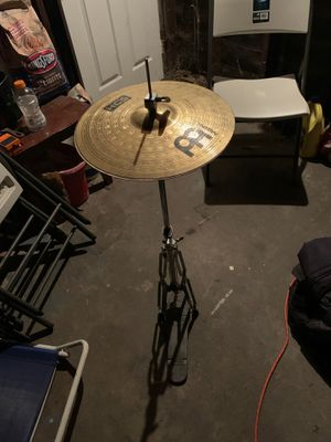 """Meinl 13"""" hi hats with stand for Sale in Norwalk, CA"""