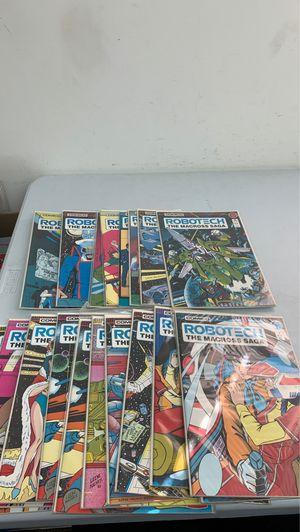 Bundle of 9 comics comico robot echo the macros saga for Sale in La Habra, CA