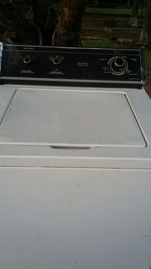Whirlpool heavy-duty washer/Dryer combo for Sale in Fresno, CA