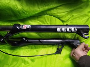 1 pair of twenty nine inch forks.with a 100mm travel. model TK/29 with the lock out button and cable. for Sale in Portland, OR
