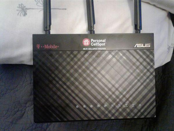 Asus personal cellspot wifi cellspot router