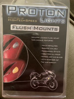 Proton Lights Flush Mounts for Honda Motorcycle for Sale in Corona, CA