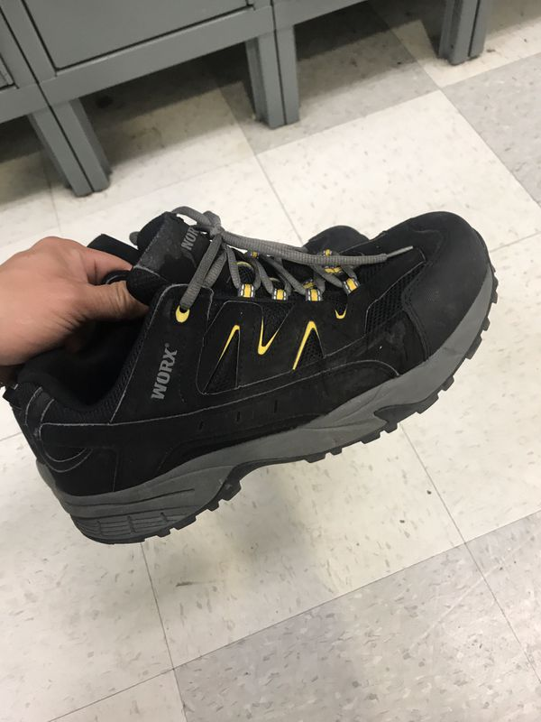 Steal toe safety shoes size 10.5 fit11