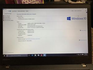 Lenovo Thinkpad T470 for Sale in Edison, NJ