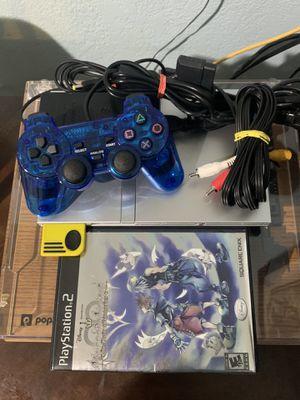 PlayStation 2 Slim (Silver) for Sale in Miami, FL