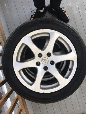 17'' Infiniti wheels for Sale in Hartford, CT