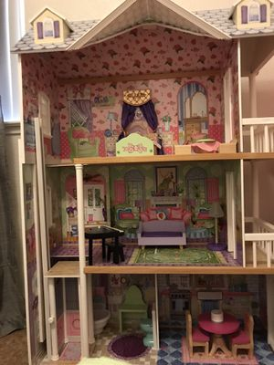 Wooden Dollhouse for Sale in Hanford, CA