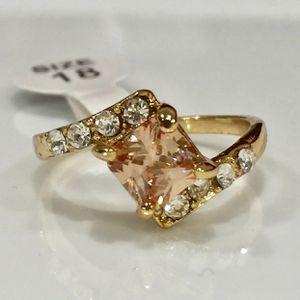 10k gold filled citrine ring for Sale in Silver Spring, MD