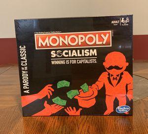 Monopoly Socialism Board Game In Hand for Sale in Philadelphia, PA