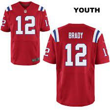 Patriots throwback Brady jersey (youth L) for Sale in El Paso, TX