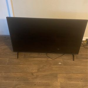 55 Inch Tv Turns On But Screen Is Black for Sale in Orlando, FL