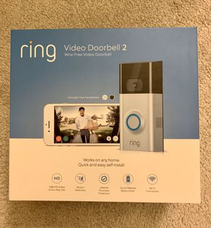 Brand new Ring video doorbell 2 for Sale in Arcadia, CA