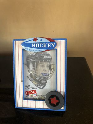 Hockey shoot and score picture frame for Sale in Scottsdale, AZ