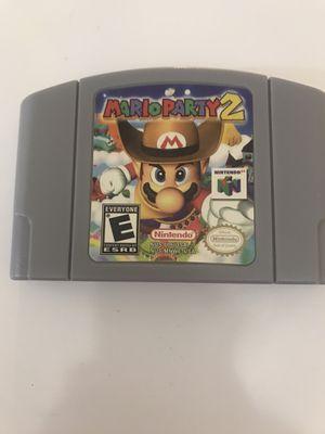 Mario Party 2 Nintendo 64 for Sale in Miami Gardens, FL