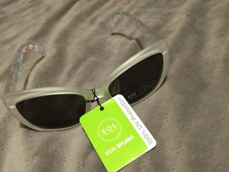 SOL Kids Splash Girls UV Protection Sunglasses for Sale in Luther,  MI