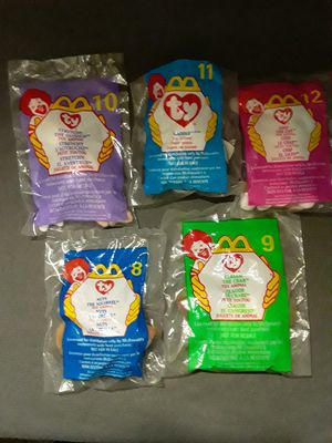 McDonald's beanie baby lot pt3 for Sale in Madera, CA