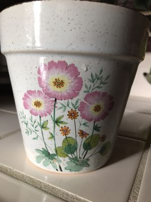5inch tall old planting pot marked Japan for Sale in Bakersfield, CA