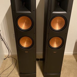 Klipsch RF-82 ii / Floor stand speakers for Sale in Irvine, CA