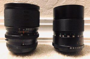 Vivitar 135mm 1;2:8 Auto Telephoto Lens & Sigma - XQ Multi Coated 1:3:5 f=39mm ~ 80mm for Sale in Pleasant Hill, CA