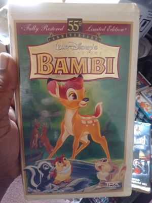 Bambi VHS movie for Sale in Tampa, FL