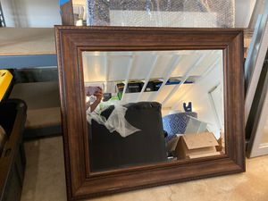 Large framed mirror wall decoration 34.5x29 for Sale in Anaheim, CA
