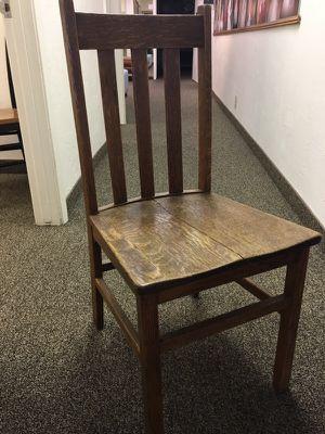 Antique oak chair for Sale in Phoenix, AZ