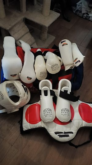 Tae Kwon Do Kids Sparring-Training set for Sale in Worcester, MA