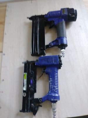 2 nail guns 18 & 23 Gauge for Sale in Choctaw, OK