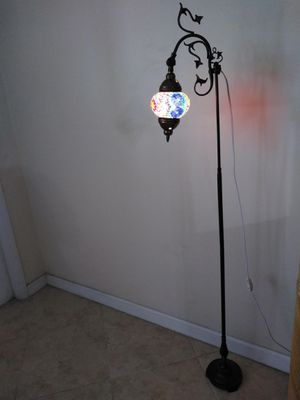 Turkish Shade w/ Vintage Lamp Stand for Sale in Coconut Creek, FL