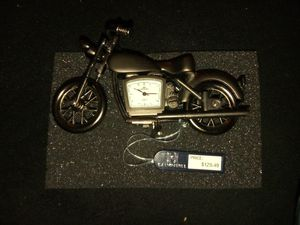 Calvin Hill Motorcycle Clock for Sale in Duluth, GA