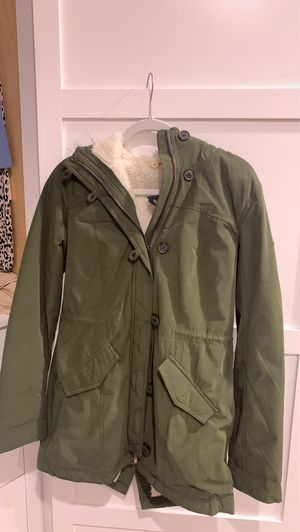Hollister parka outerwear jacket for Sale in Long Beach, CA